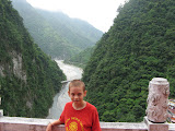 Zach in Taroko Gorge