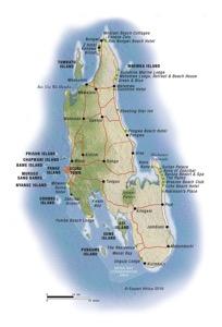 Tanzania Zanzibar map