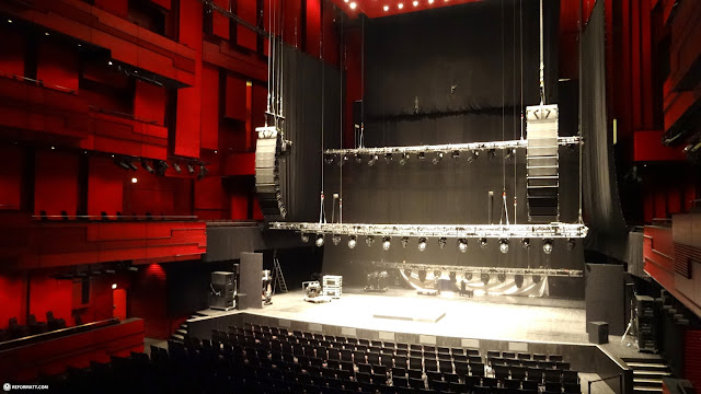 the hapra concert stage in Reykjavik, Hofuoborgarsvaeoi, Iceland