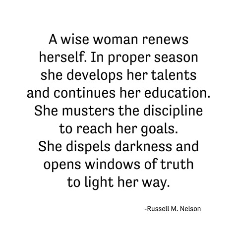 a wise woman -- nelson