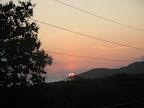 Sunset from balcony at Casa de Kathy