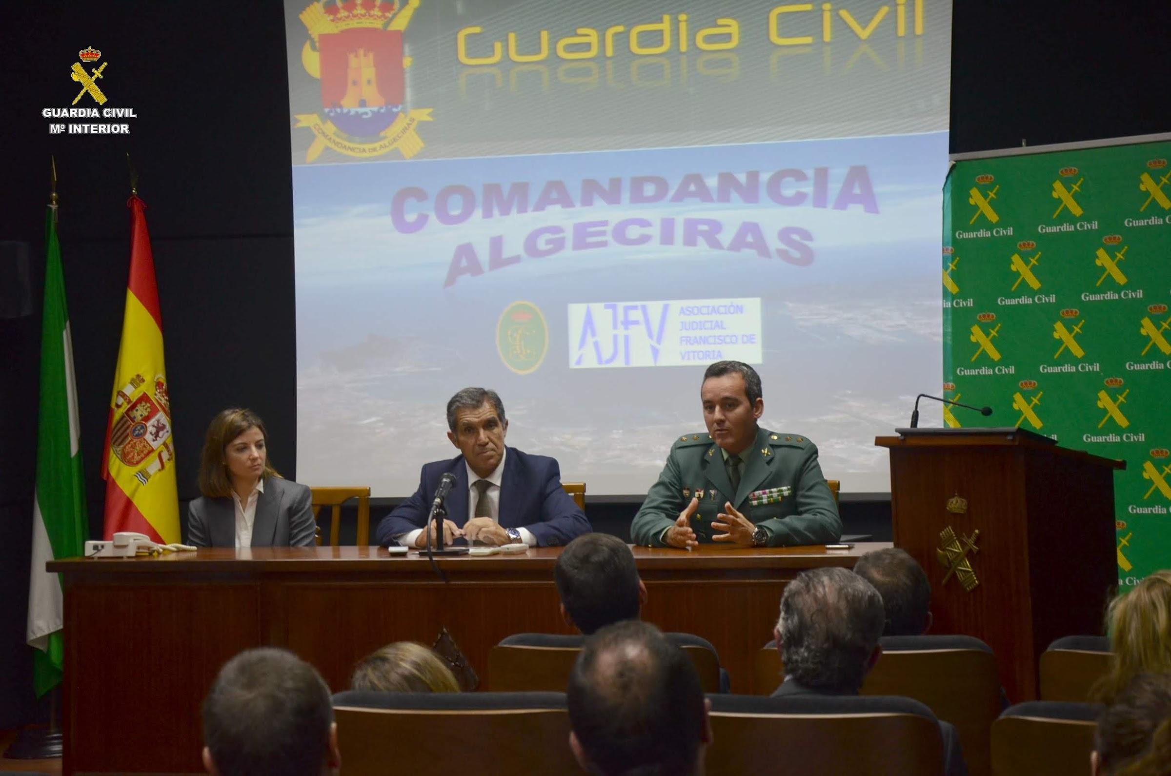Jueces y Guardia Civil analizan el narcotráfico y el crimen organizado en el sur de España