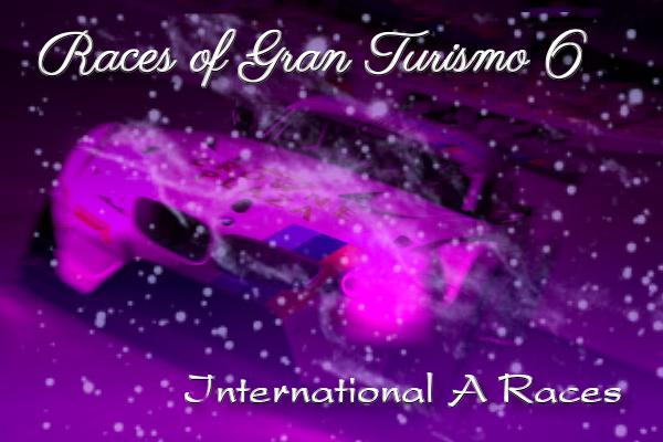 Gran Turismo 6 International-A