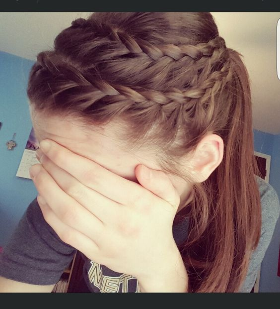 Braid for Short Hair :Style French Style Newest Ideas 2017 6