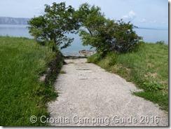 Croatia Camping Guide - Camp Kozica Slip