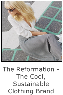 the reformation - the cool sustainable clothing brand
