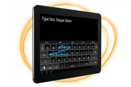 Swype el mejor teclado para android