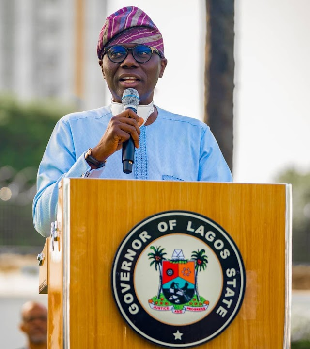 1st Year in Office-  Sanwo-Olu Awards Gateman, Driver, 8 other Frontline Workers