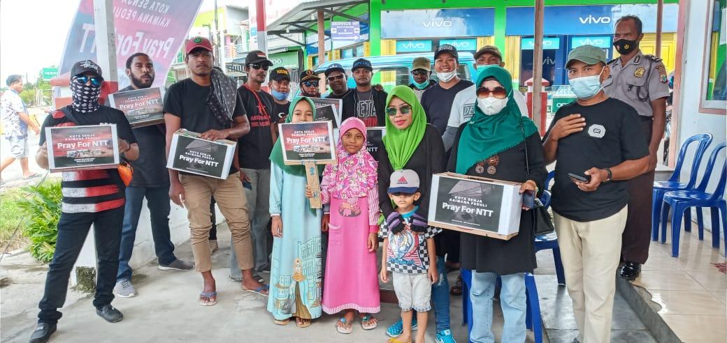 Aliansi Masyarakat Kota Senja Kaimana Peduli: Pray For NTT