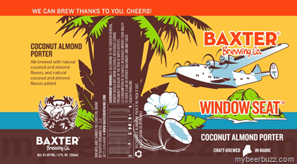 Wondrous Baxter Brewing Window Seat Coconut Almond Porter Wicked Bralicious Painted Fabric Chair Ideas Braliciousco