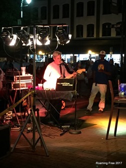 Musician in City Market