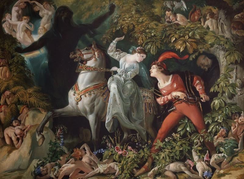 Daniel Maclise - Undine, 1844