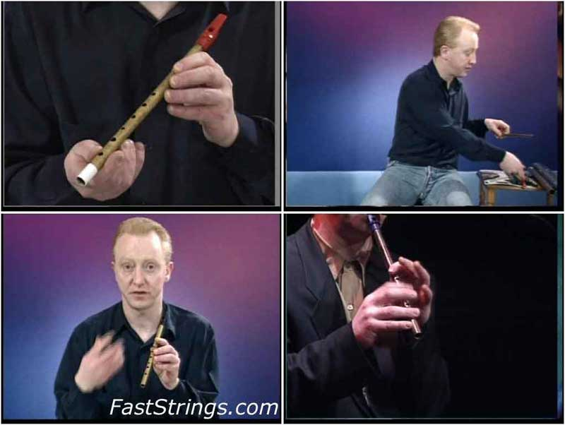 Vinnie Kilduff - Learn To Play The Tin Whistle