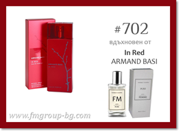 Парфюм FM 702 PURE - ARMAND BASI - In Red