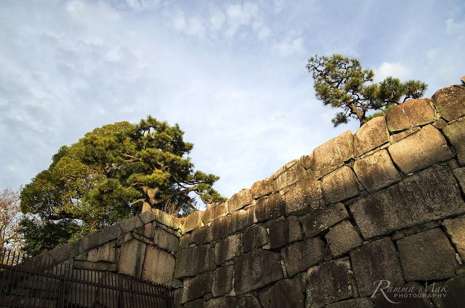 巨石建成的牆