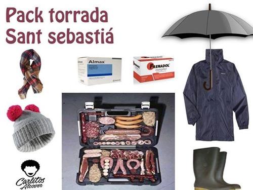 pack torrada