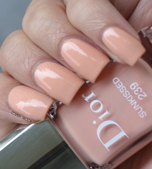 Dior Vernis - Sunkissed 239 Tie Dye Review Swatch
