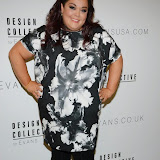 WWW.ENTSIMAGES.COM -    Lisa Reilly  arriving at    The Design Collective for Evans at The Freemasons Hall, LondonSeptember 16th 2014Show hosted by Arcadia Group owner Sir Philip Green as plus size retailer Evans makes its debut on the London Fashion Week schedule.                                                   Photo Mobis Photos/OIC 0203 174 1069