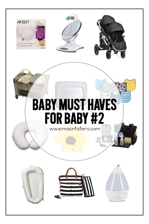 This is a great collection of Must Have Baby items that you can add to a baby registry if this is your first baby or even for your second baby and on up. These items are all great for both baby boys and baby girls.  Breastfeeding Supplies, Postpartum supplies, baby gear, and miscelleneous items lists are all included in this handy baby prep guide.