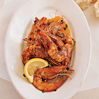 Fresh Gulf Shrimp with Barbecue Butter