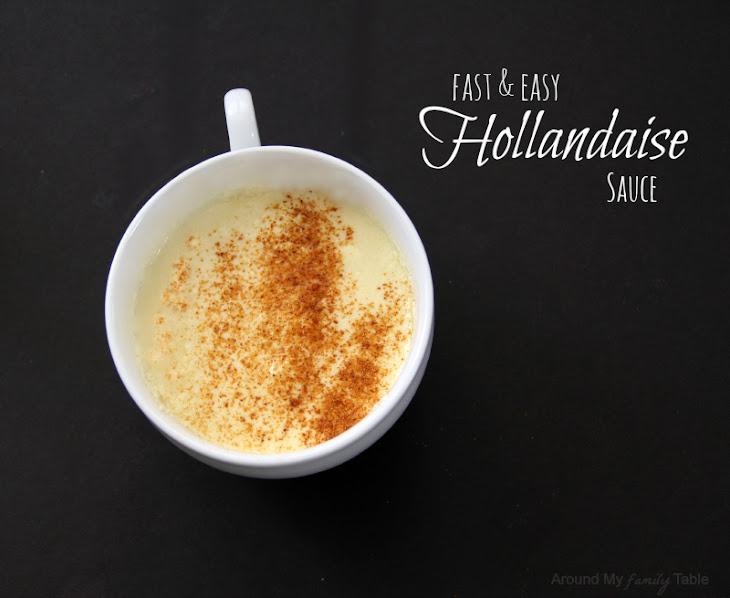 Cooking 101 Basics Week #11 – Homemade Hollandaise Sauce Recipe