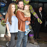OIC - ENTSIMAGES.COM - Jessica-Jane Stafford and Lee Stafford at the   Teenage Mutant Ninja Turtles Out Of The Shadows Gala Screening  Vue West End in London  29th May 2016 Photo Mobis Photos/OIC 0203 174 1069