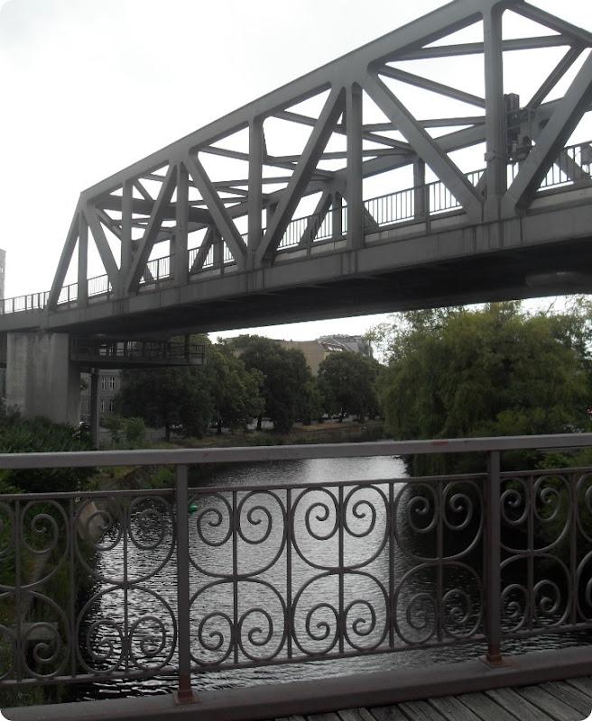 Tog og broer i Berlin