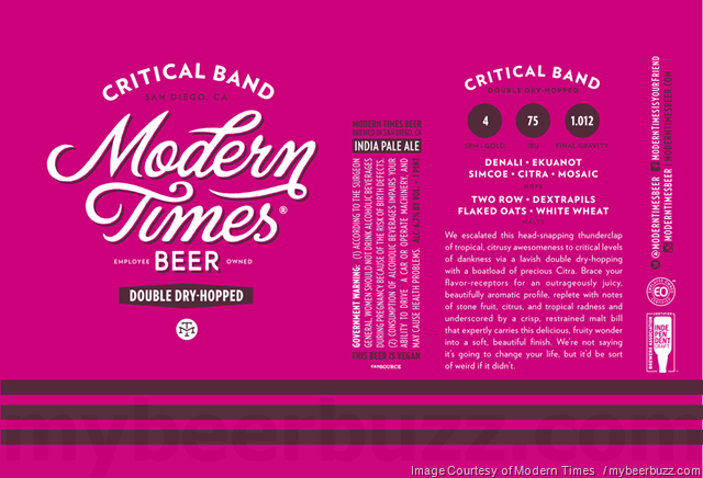 Modern Times Weather Control & DDH Critical Band