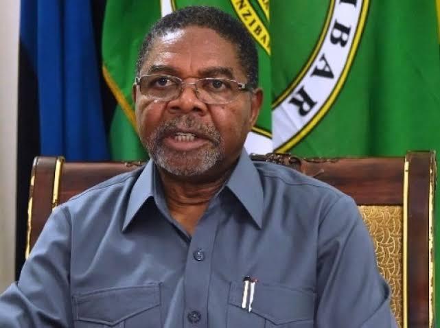 President of Zanzibar, Dr. Mohamed Shein. PHOTO | BMS