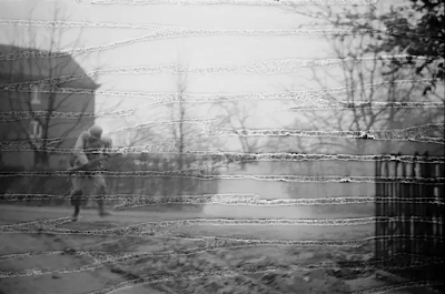soldier hit by shrapnel in WWII