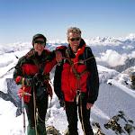 2000-85 Jill Giles, Bob Mott, Alps meet, Gros Grunhorn.jpg
