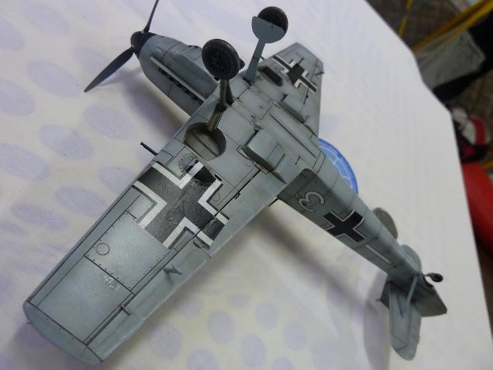 Bf-109 E-3 Tamiya 1/48 - Reforma pintura P1020660