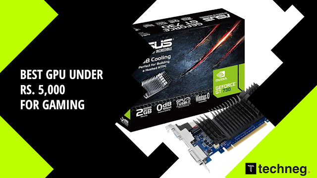 Best Graphics Card Under 5000 for Gaming
