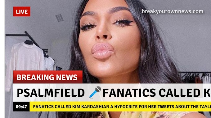 Fanatics called Kim Kardashian a Hypocrite for Her Tweets about the Taylor quick Drama