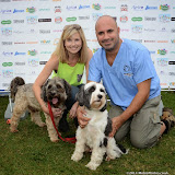 WWW.ENTSIMAGES.COM -    Pip Tomson and Marc Abraham (TV Veterinary Business Development and Coaching Consultant)   at        Pup Aid at Primrose Hill, London September 6th 2014Puppy Parade and fun dog show to raise awareness of the UK's cruel puppy farming trade. Pup Aid, the anti-puppy farming campaign started by TV Vet Marc Abraham, are calling on all animal lovers to contact their MP to support the debate on the sale of puppies and kittens in pet shops. Puppies & Celebrities Return To Fun Dog Show Fighting Cruel Puppy Farming Industry.                                              Photo Mobis Photos/OIC 0203 174 1069