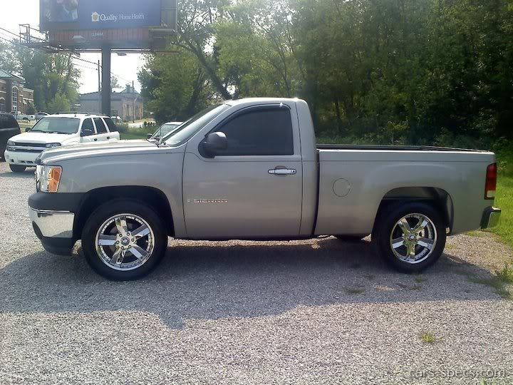 2007 gmc sierra 1500 classic regular cab specifications pictures prices. Black Bedroom Furniture Sets. Home Design Ideas