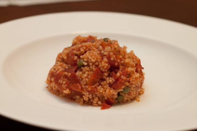 Tomato Couscous with Capers - 1