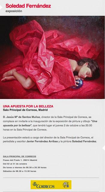 Una apuesta por la belleza, de Soledad Fernández, en Correos