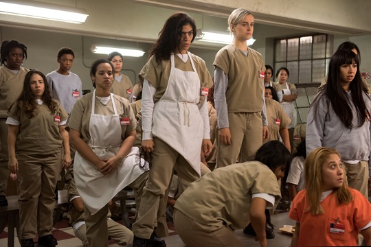 The stars of OITNB season 4