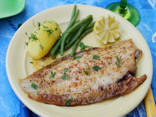 Sautéed Whole Round Fish