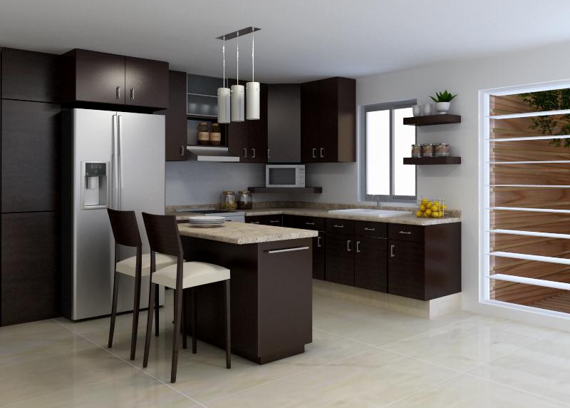 Cm carpinteria proyectos - Distribucion cocina ...