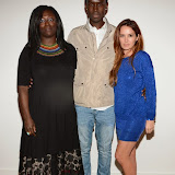 WWW.ENTSIMAGES.COM -   Afia Nkrumah, Emeka Sesay and Kierston Wareing    at    London Calling Showcase at BFI Southbank September 11th 2014Ceremony celebrating the best short films from all areas of London, voted for by the public                                                 Photo Mobis Photos/OIC 0203 174 1069