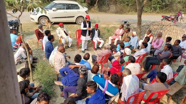 भाजपा सरकार ने किसानों के लिये कानून नहीं, बल्कि फांसी का फंदा बनाया हैः राहुल त्रिपाठी