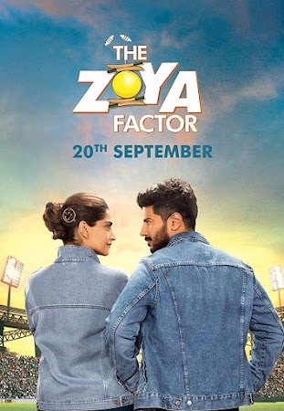 Poster Of Hindi Movie The Zoya Factor 2019 Full HD Movie Free Download 720P Watch Online