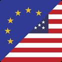 Euro to US Dollar icon