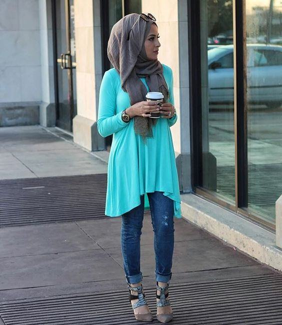 Casual Hijab Outfits Ideas 2017 2018