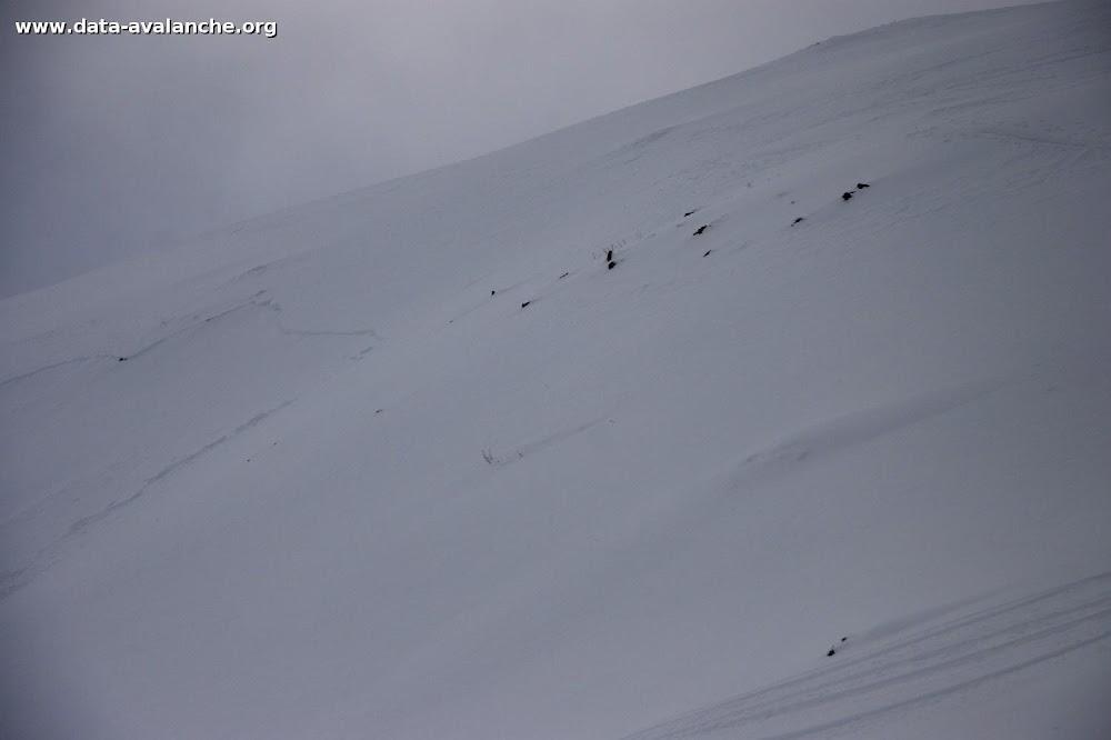 Avalanche Maurienne, secteur Aiguille de l'Epaisseur, Ratissières - Photo 1