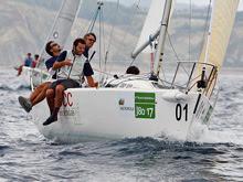 J/80 sailing in Spain