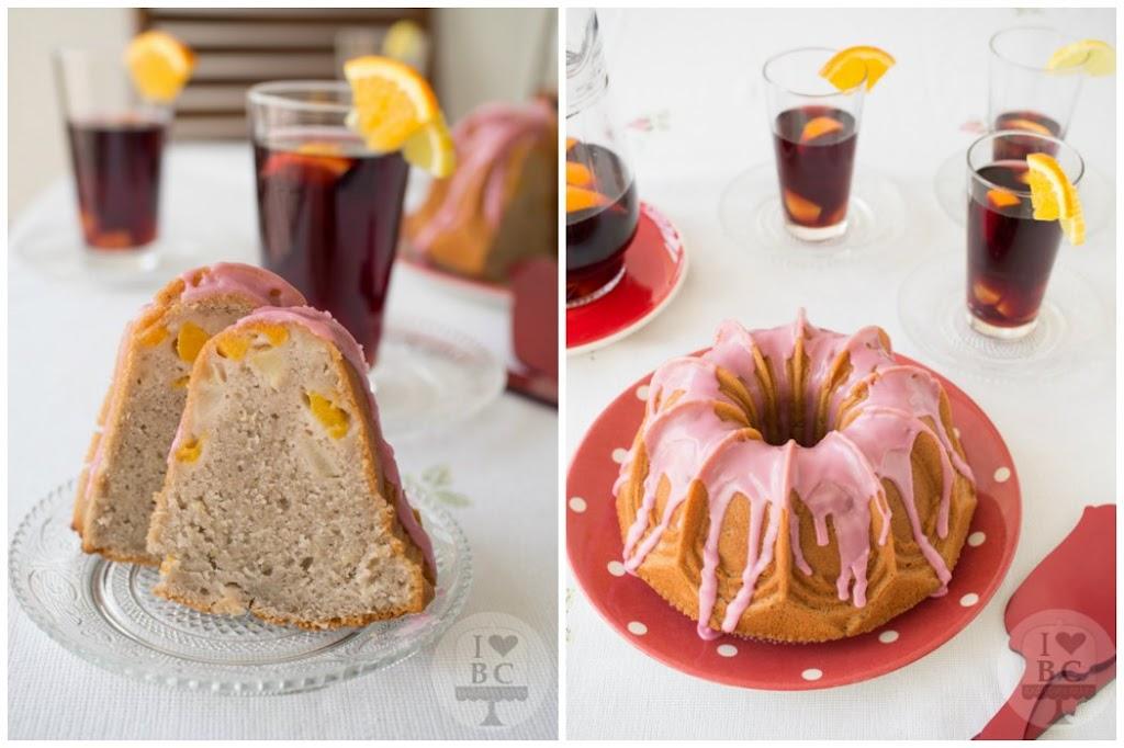 Sangría Bundt Cake