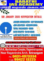 SBI NOTIFICATION 2020 DETAILS